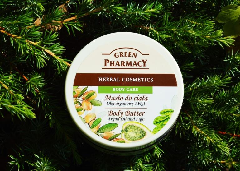 Green Pharmacy  – Masło do ciała, Olej arganowy i Figi