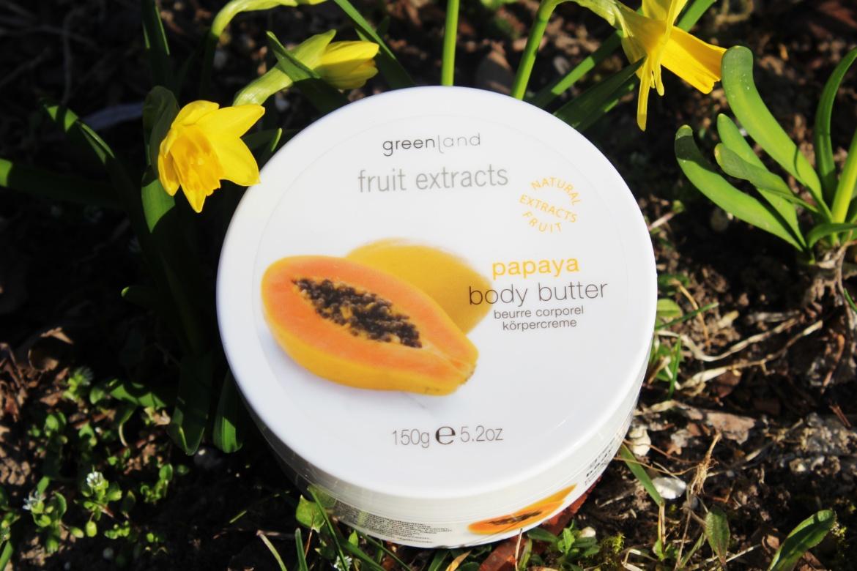Greenland, Fruit Extracts Masło do ciała Papaya