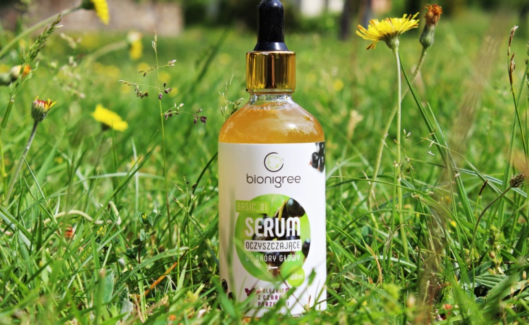 Bionigree Basic_01, Serum oczyszczające do skóry głowy