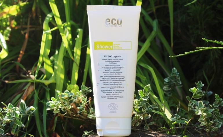 Eco Cosmetics, Żel pod prysznic z zieloną herbatą i owocem granatu
