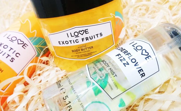 I Love Cosmetics, Signature – kosmetyki do ciała w barwnych opakowaniach