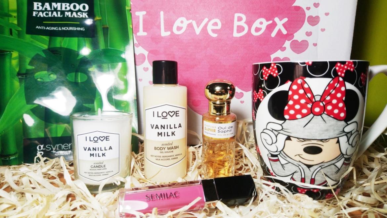 I Love Box – nowy box kosmetyczny na rynku