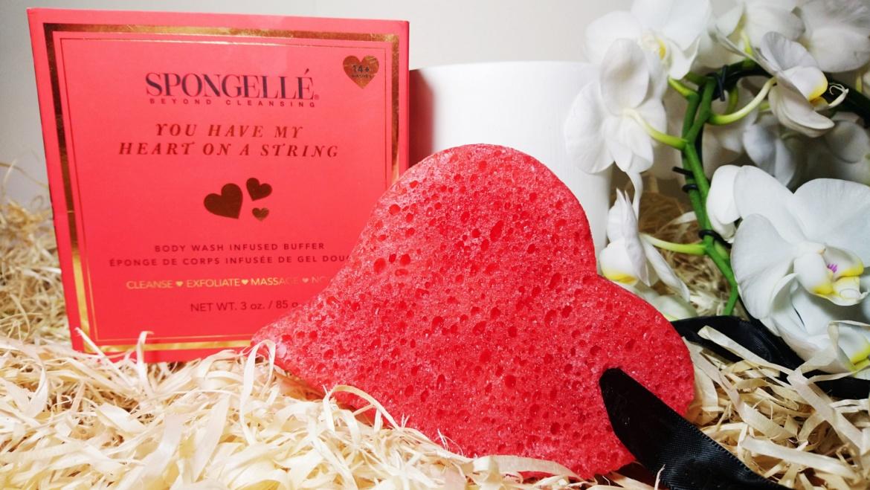 Spongelle, You Have My Heart on a String – multifunkcyjna gąbka do mycia ciała