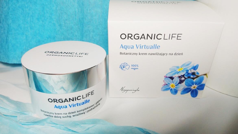 Organic Life, Botaniczny krem nawilżający na dzień Aqua Virtualle