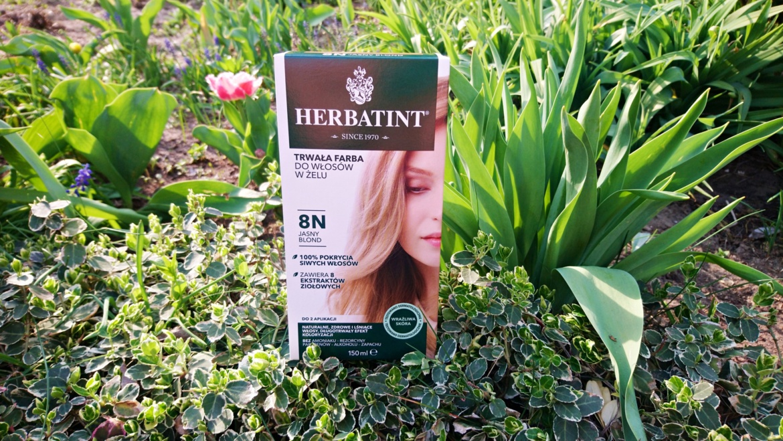 Herbatint, Trwała farba do włosów w żelu 8N Jasny blond
