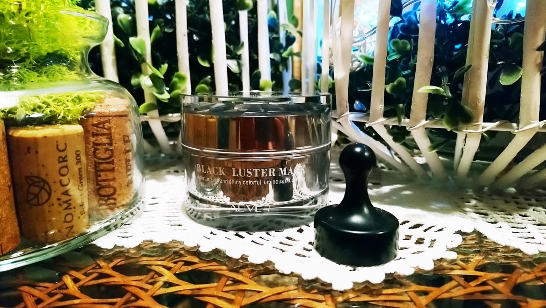 AL'IVER, Black Luster Mask – magnetyczna maseczka do twarzy bogata w minerały