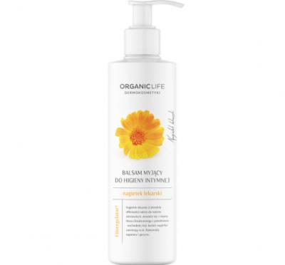 Organic Life Balsam myjący do higieny intymnej Nagietek lekarski