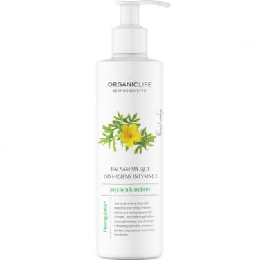 Organic Life Balsam myjący do higieny intymnej Pięciornik srebrny