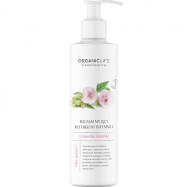 Organic Life Balsam myjący do higieny intymnej Prawoślaz lekarski