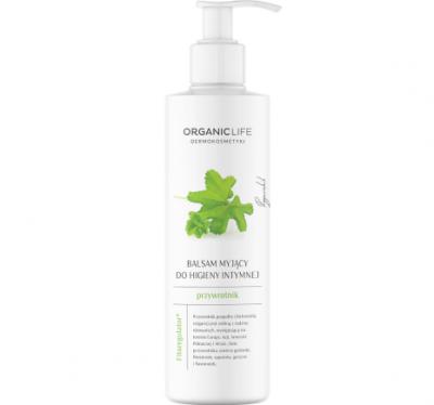 Organic Life Balsam myjący do higieny intymnej Przywrotnik