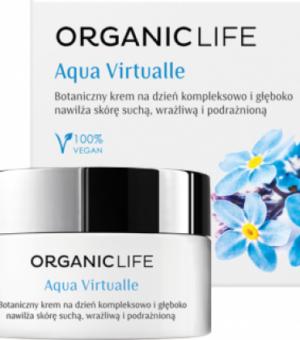 Organic Life Botaniczny krem nawilżający na dzień Aqua Virtualle
