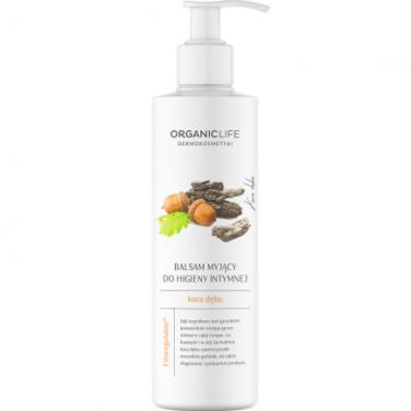 Organic Life Balsam myjący do higieny intymnej kora dębu