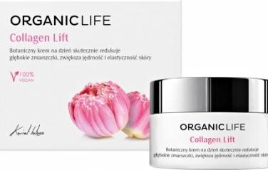 Organic Life Botaniczny krem przeciwzmarszczkowy na dzień Collagen Lift