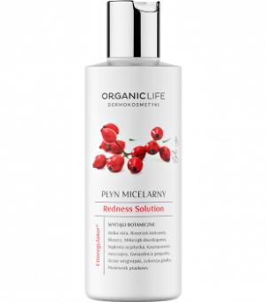 Organic Life Płyn micelarny cera naczynkowa Redness Solution