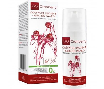 Odżywcze ukojenie - krem do twarzy GoCranberry