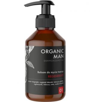 Organic Life Balsam do mycia twarzy regenerujący Organic Man