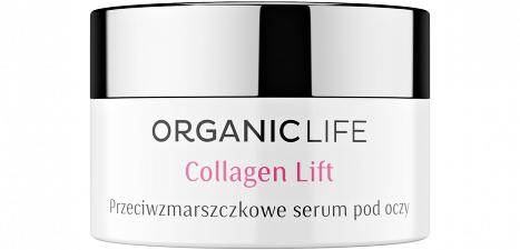 Organic Life Przeciwzmarszczkowe serum pod oczy Collagen Lift