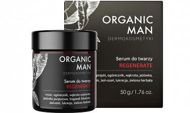 Organic Life Serum do twarzy regenerujące Organic Man