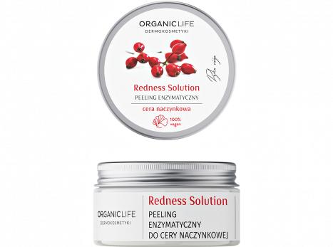 Peeling enzymatyczny do cery naczynkowej Redness Solution