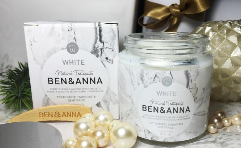 BEN&ANNA Naturalna wybielająca pasta do wrażliwych zębów