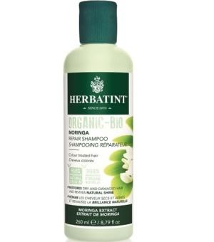 Herbatint, Bio Organic Moringa Szampon naprawczy