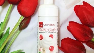 Nova Kosmetyki, Żurawinowa pianka do mycia twarzy GoCranberry