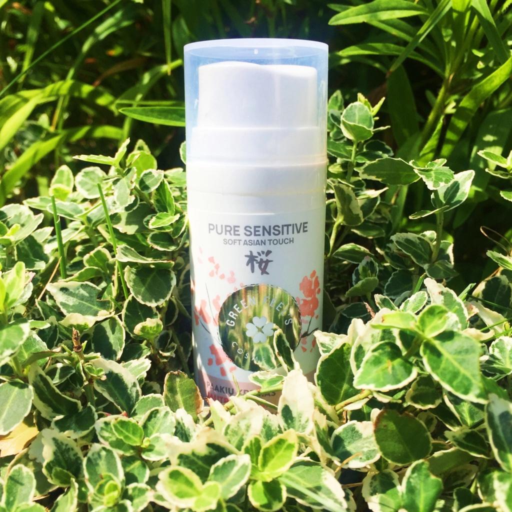 Green Feel's Krem pod oczy do skóry wrażliwej z ekstraktem sakury