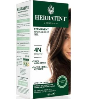 Herbatint 4N Kasztan Trwała farba do włosów w żelu