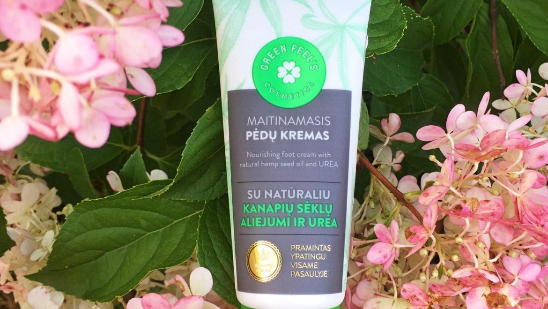 Green Feel's, Krem do stóp z naturalnym olejkiem z nasion konopi oraz mocznikiem
