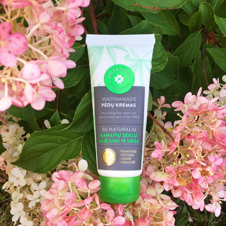 Green Feel's Krem do stóp z naturalnym olejkiem z nasion konopi oraz mocznikiem