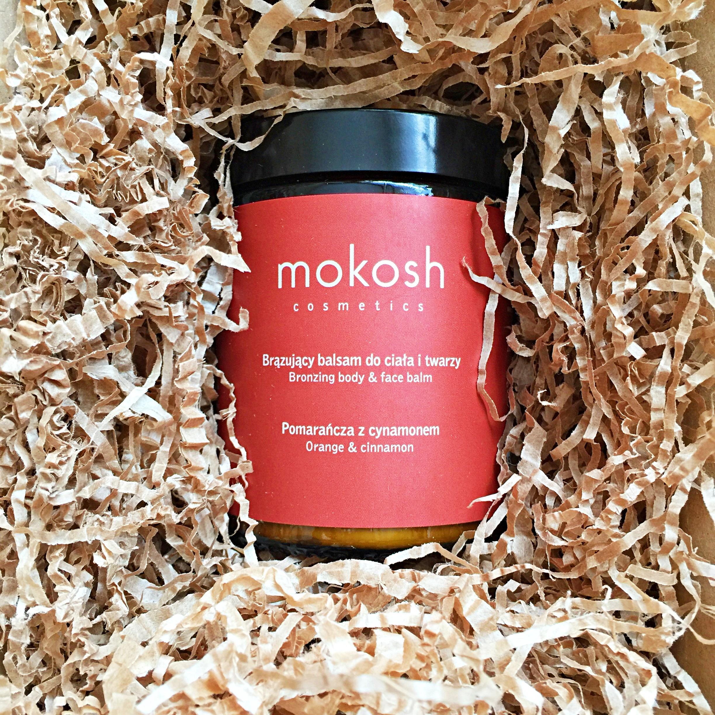 Mokosh, Brązujący balsam do ciała i twarzy Pomarańcza z cynamonem