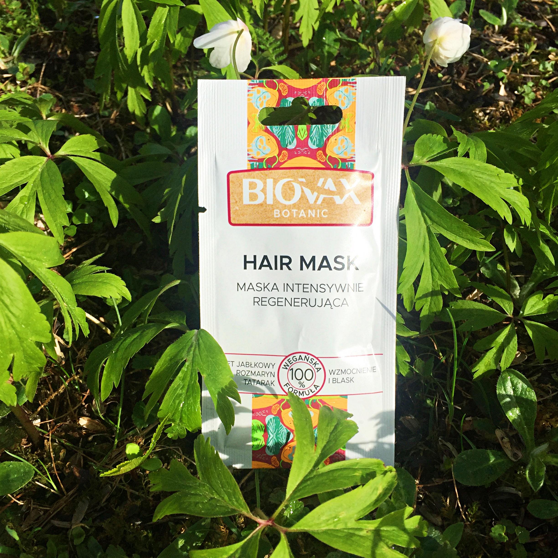BIOVAX Botanic Maska intensywnie regenerująca z octem