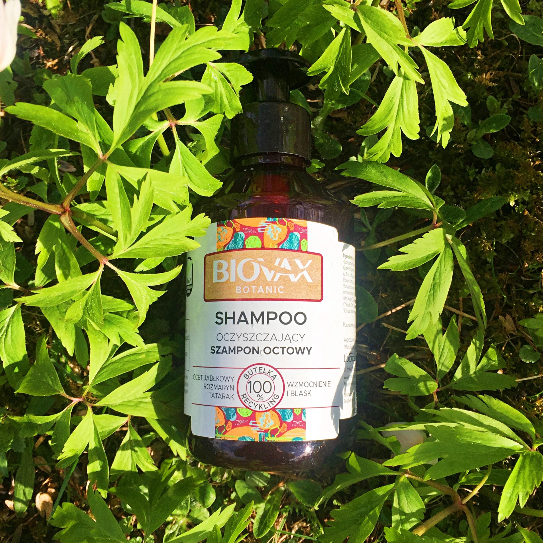 BIOVAX Botanic Oczyszczający szampon octowy