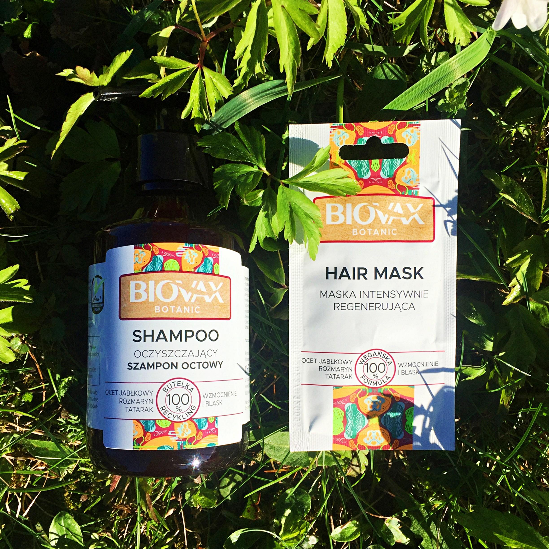 BIOVAX Botanic Szampon i maska do włosów