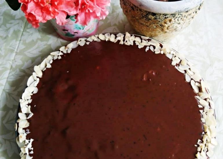 Mazurek czekoladowy bez pieczenia