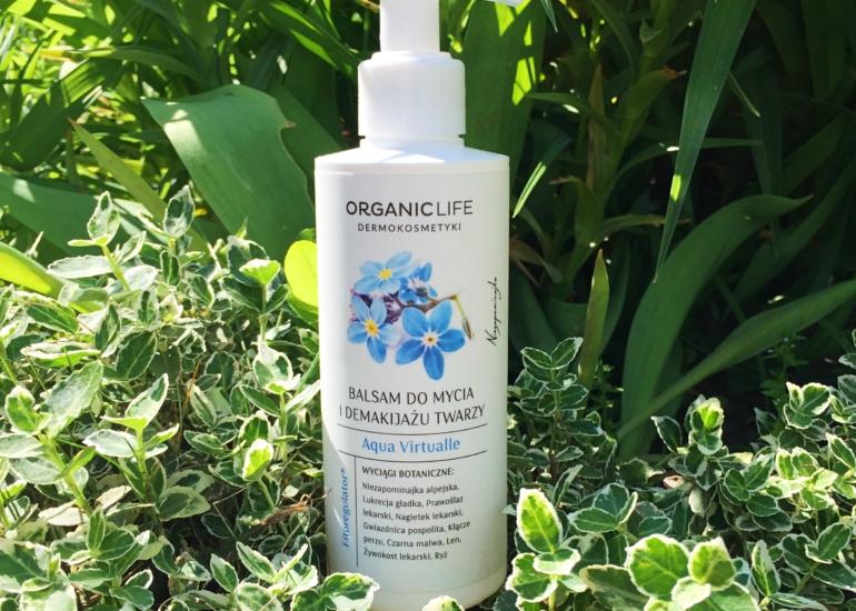 Organic Life, Balsam do mycia i demakijażu twarzy Aqua Virtualle