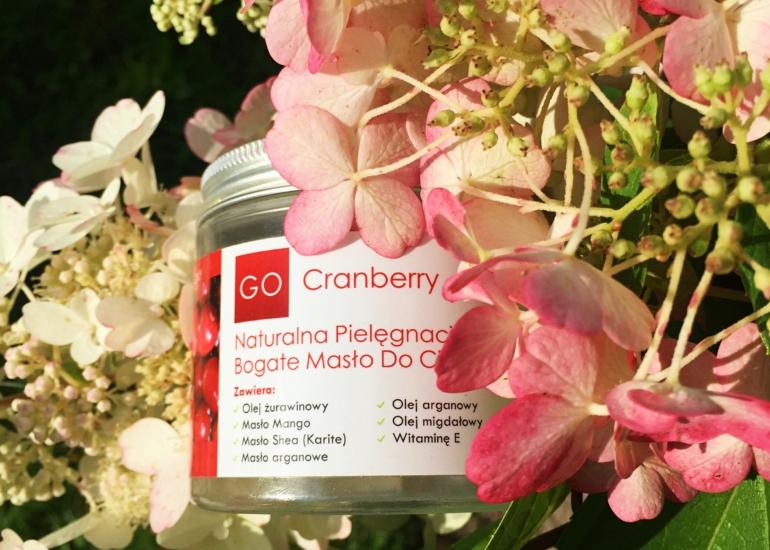GoCranberry, Naturalna Pielęgnacja – Bogate masło do ciała