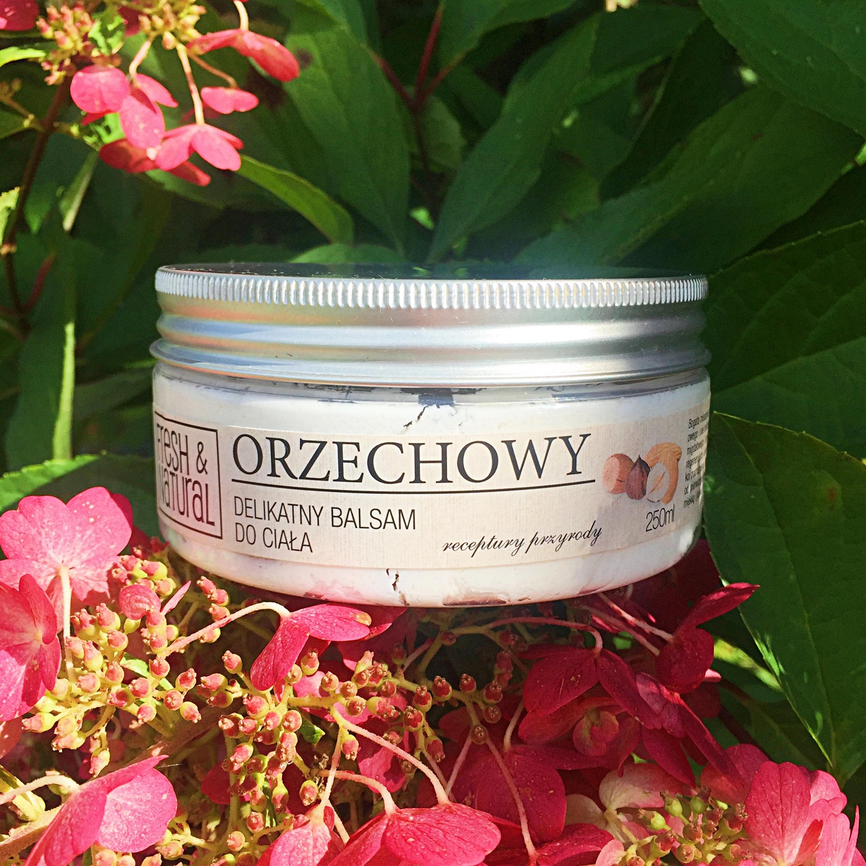 Fresh&Natural, Orzechowy balsam do ciała
