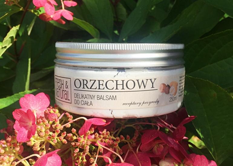 Fresh&Natural, Orzechowy delikatny balsam do ciała
